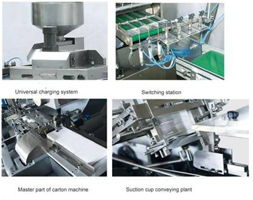 Automatic Liquid Filling Capping Line Automatic Tablet Counting Line Automatic Powder Filling Capping Line